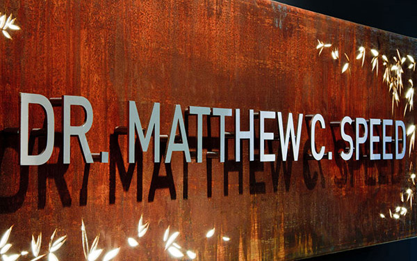 Dr Matt Speed Sign