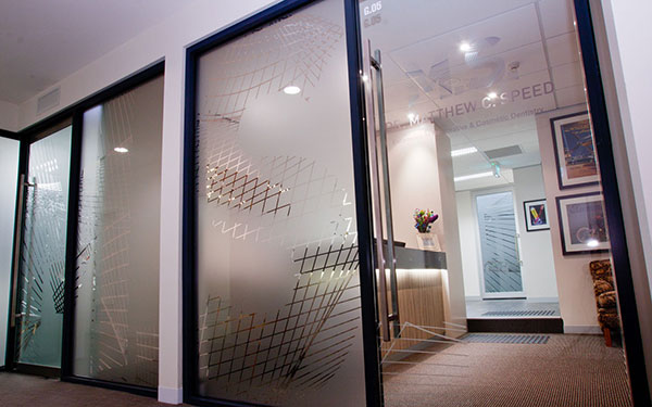 Dr Matt Speed front door