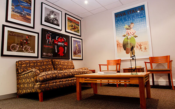 Dr Matt Speed waiting room